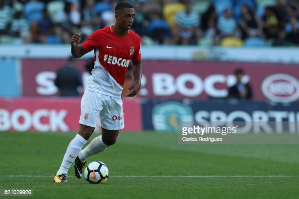 Monaco midfielder Youri Thielemans from Germany during the Friendly match between Sporting CP and AS Monaco at Estadio Jose Alvalade on July 22 2017...