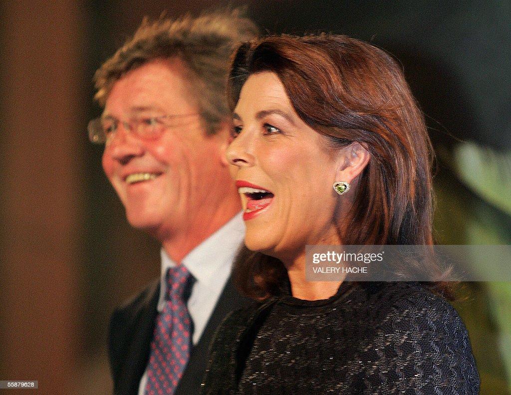 Monaco News: Princess Caroline Of Monaco-Hanover And Her Husband Prince