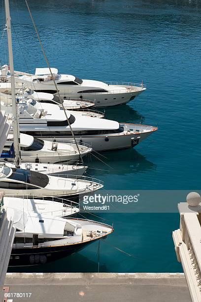 monaco, monte carlo, marina - monte carlo stock pictures, royalty-free photos & images