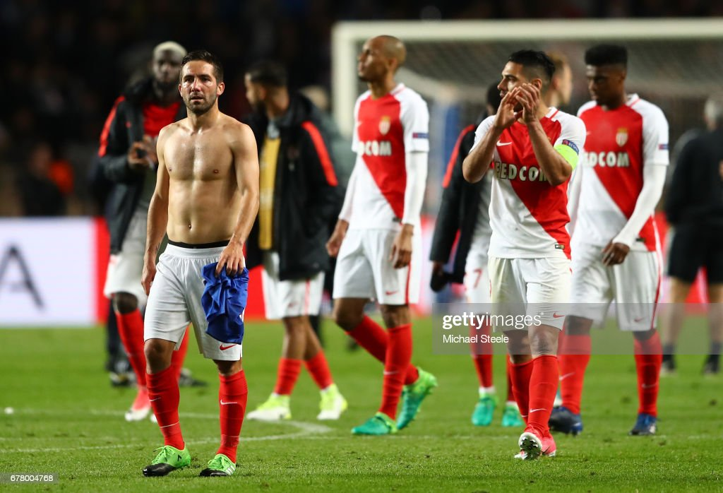 AS Monaco v Juventus - UEFA Champions League Semi Final: First Leg : News Photo
