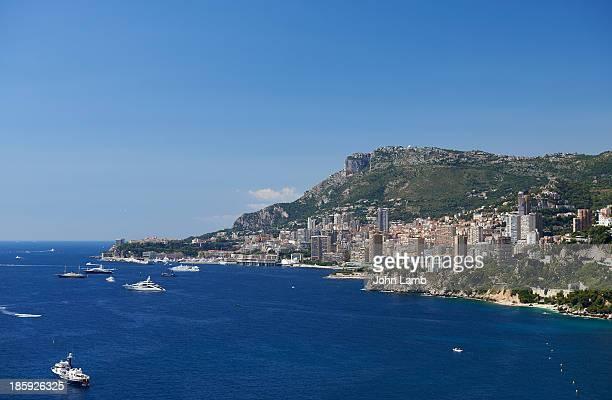 Monaco seen from Roquebrune-Cap-Martin