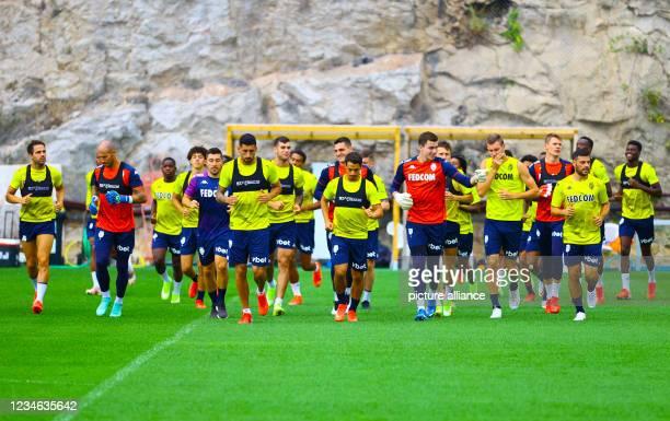 Monaco vs. FC Lorient Training Session with german Stormer Kevin Volland and midfielder Cesc Fabregas. Mandoga Media