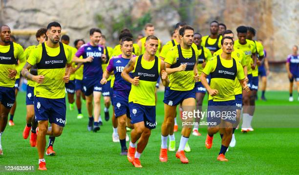 Monaco vs. FC Lorient Training Session with midfielder Cesc Fabregas. Mandoga Media