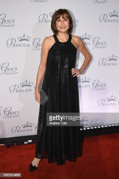 Monaco's ambassador to the US HE Maguy Maccario Doyle attends the 2018 Princess Grace Awards Gala at Cipriani 25 Broadway on October 16 2018 in New...