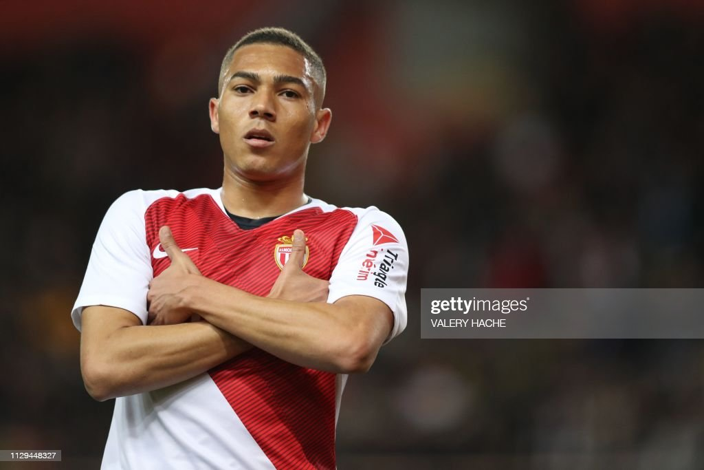 FBL-FRA-LIGUE1-MONACO-BORDEAUX : News Photo