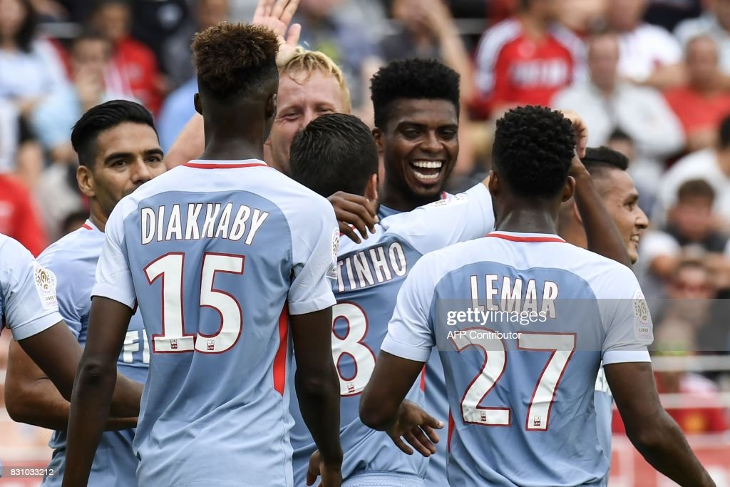 FBL-FRA-LIGUE1-DIJON-MONACO : News Photo