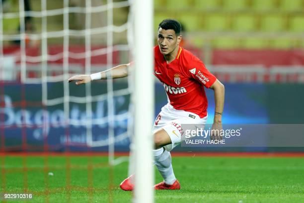 Monaco s Brazilian midfielder Rony Lopez celebrates after scoring a goal  during the French L1 football match 70e5a0c9970e2