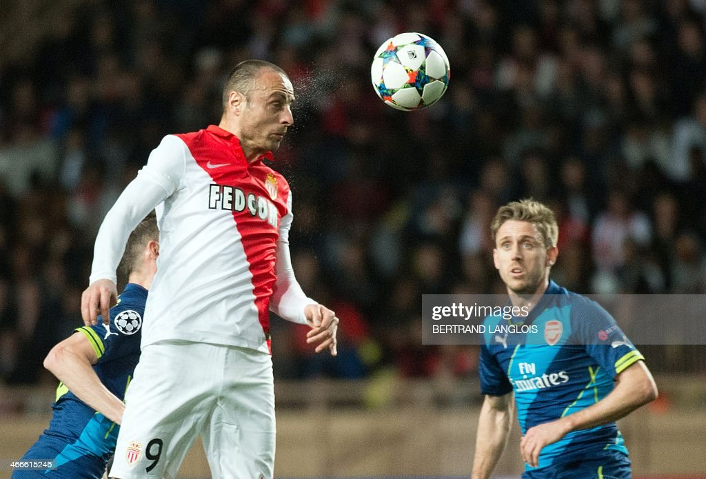 FBL-EUR-C1-MONACO-ARSENAL : News Photo