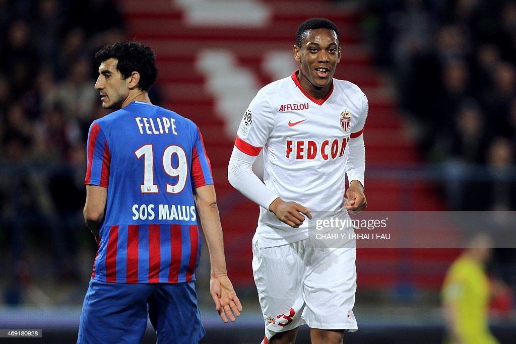 FBL-FRA-LIGUE1-CAEN-MONACO : News Photo