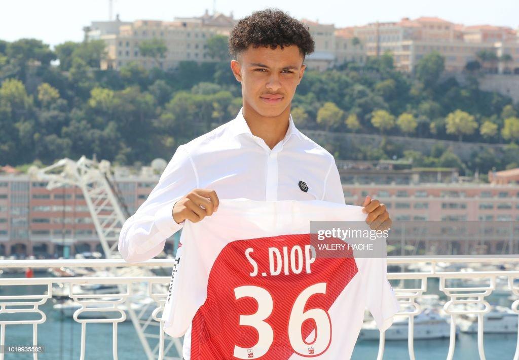 Maillot Domicile AS Monaco Sofiane DIOP