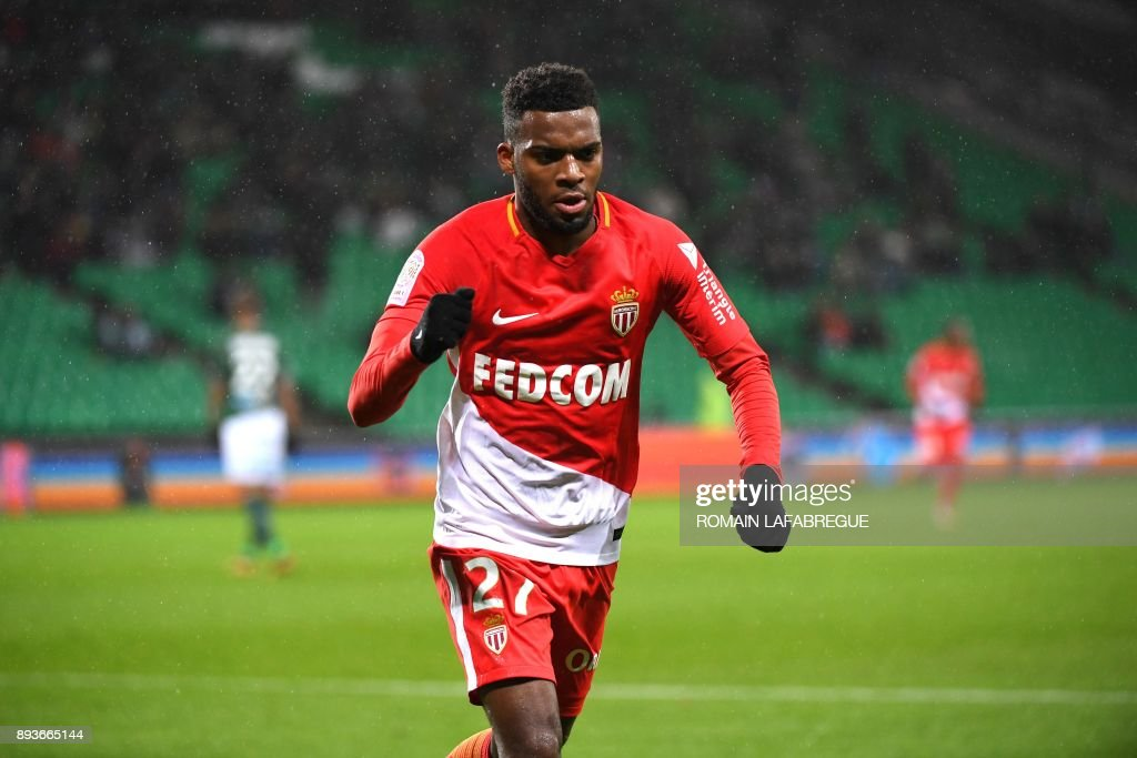 FBL-FRA-LIGUE1-SAINT-ETIENNE-MONACO : News Photo