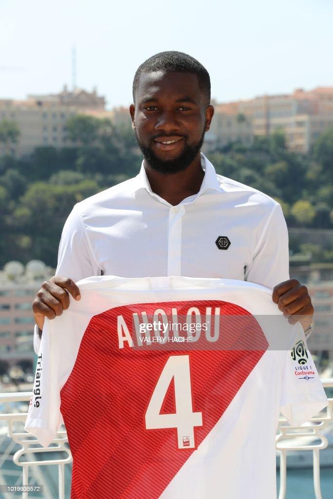 Maillot THIRD AS Monaco Jean-Eudes AHOLOU