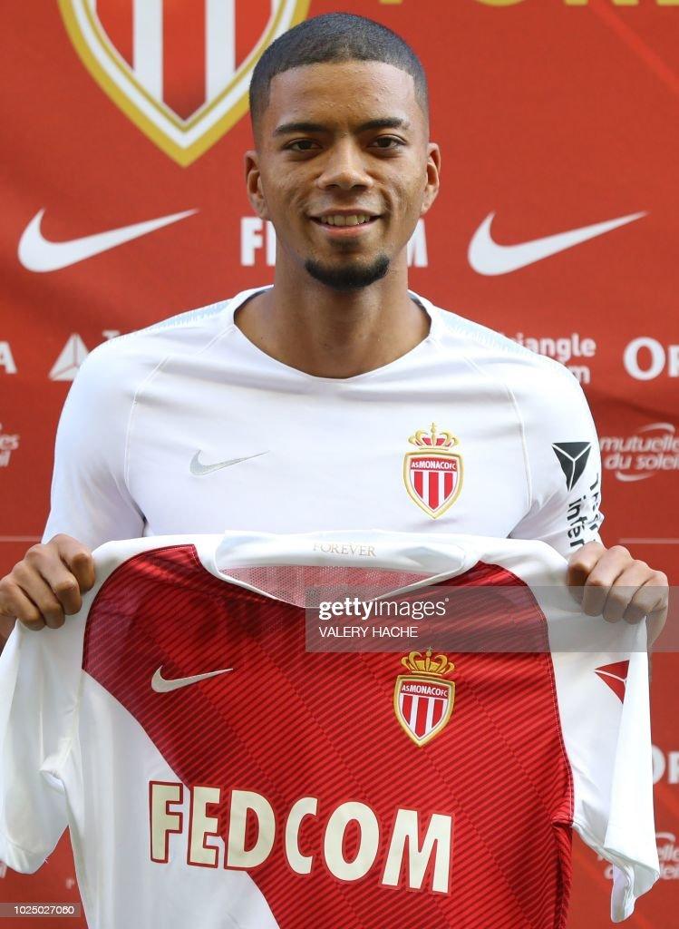 Maillot Domicile AS Monaco Benjamin HENRICHS