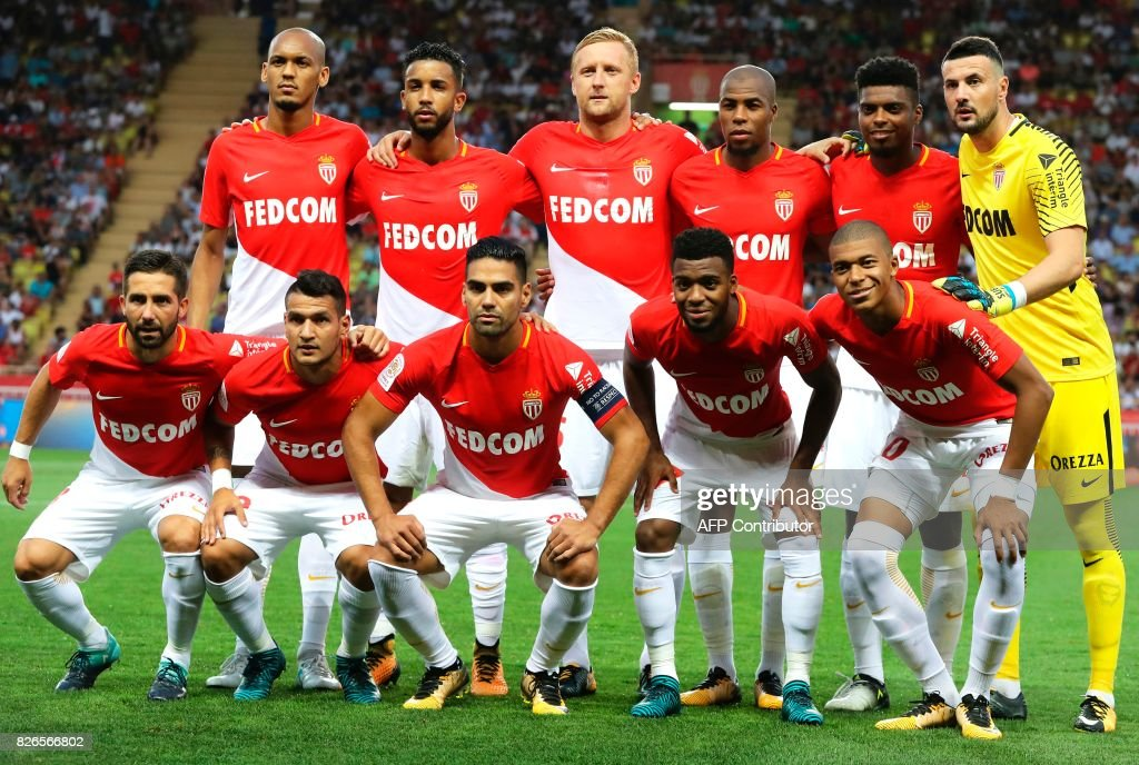 FBL-FRA-LIGUE1-MONACO-TOULOUSE : News Photo