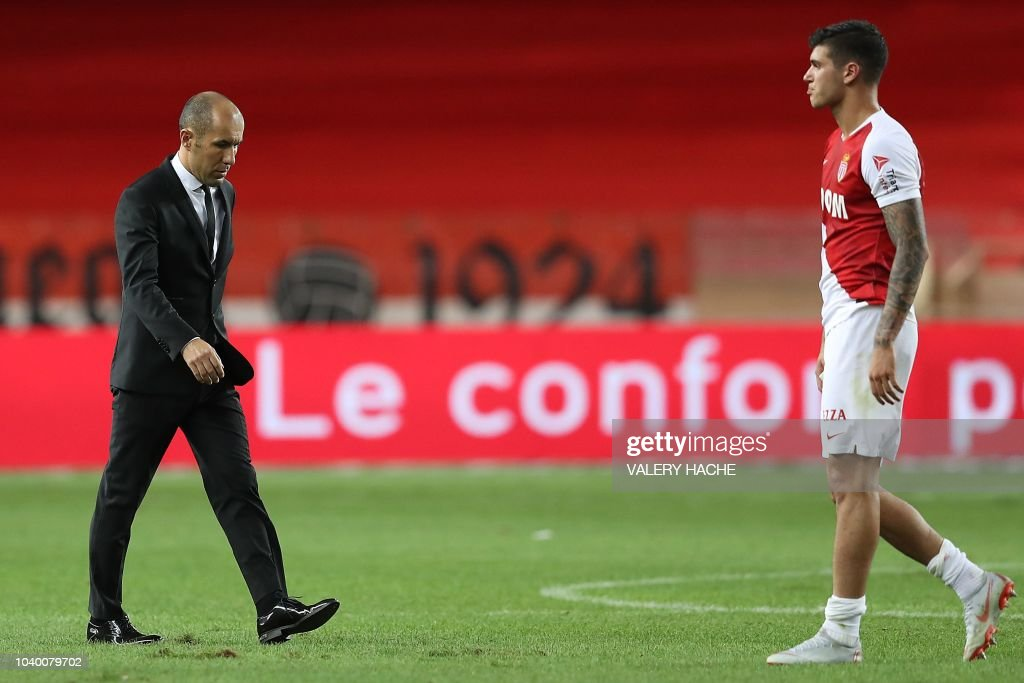 FBL-FRA-LIGUE1-MONACO-ANGERS : News Photo