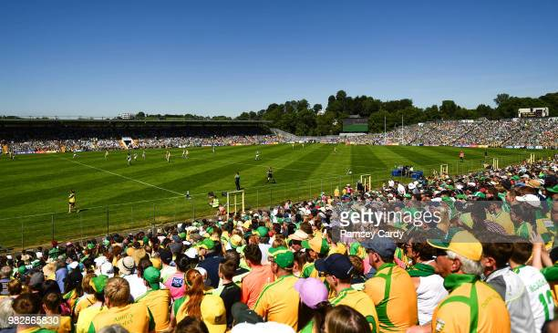 Monaghan Ireland 24 June 2018 A general view during the Ulster GAA Football Senior Championship Final match between Donegal and Fermanagh at St...