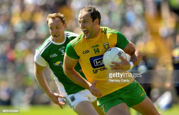 Monaghan Ireland 24 June 2018 Michael Murphy of Donegal during the Ulster GAA Football Senior Championship Final match between Donegal and Fermanagh...
