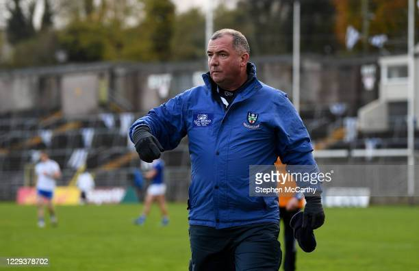Monaghan , Ireland - 31 October 2020; Monaghan manager Séamus McEnaney during the Ulster GAA Football Senior Championship Preliminary Round match...
