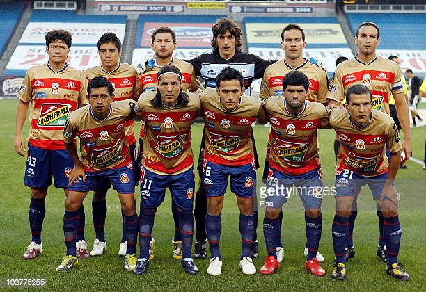 Monarcas Morelia poses before their championship game against the New England Revolution during the SuperLiga 2010 on September 1 2010 at Gillette...
