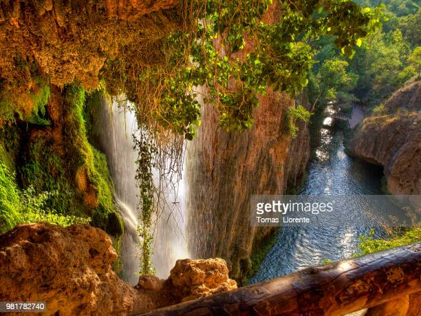 monasterio de piedra i - llorente stock pictures, royalty-free photos & images