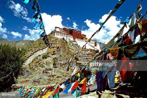 Monastery in Tibet.