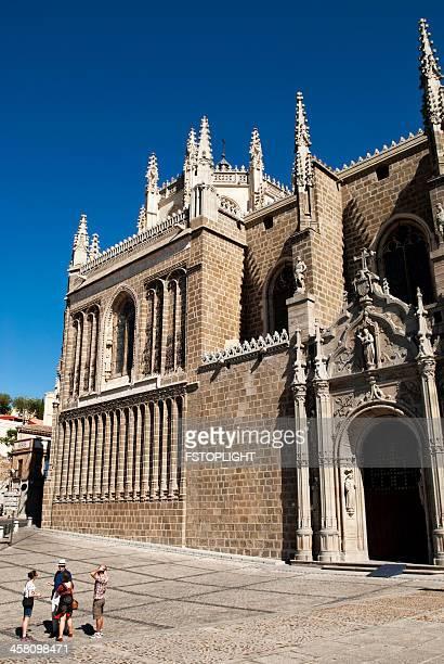 monastery in toledo city. - fstoplight stock photos and pictures