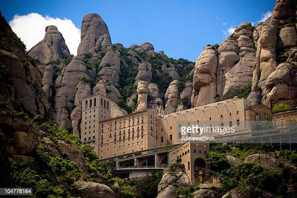 Monasterio Montserrat, Barcelona, España