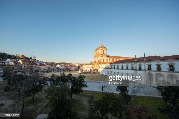 monastery of alcobaça; portugal - leiria district stock photos and pictures