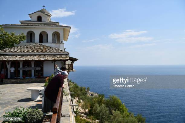 Monastery of Archangel Thasos Thasos is a Greek island geographically part of the North Aegean Sea but administratively part of the Kavala regional...