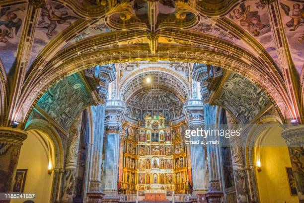 monastery of san jeronimo, granada, andalusia, spain - san stock pictures, royalty-free photos & images
