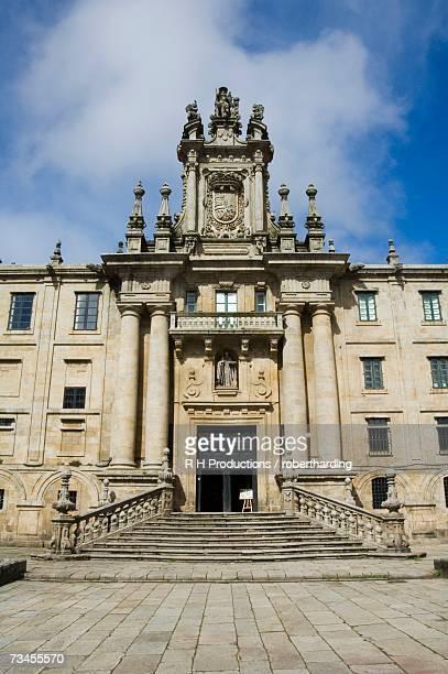 monastery of san martin pinario, santiago de compostela, galicia, spain, europe - palace stock pictures, royalty-free photos & images