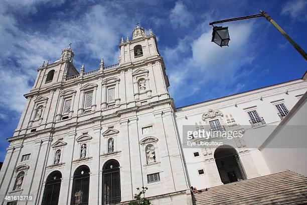 Monastery of Sao Vicente de Fora Angled view of exterior facade
