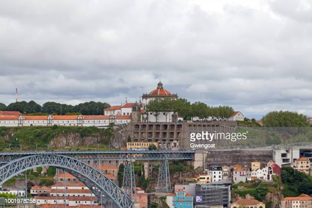 monastery of serra do pilar in gaia - gwengoat stock pictures, royalty-free photos & images
