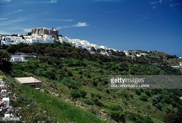 Monastery of St John the Theologian , Chora, Patmos island. Greece, 11th-17th century.