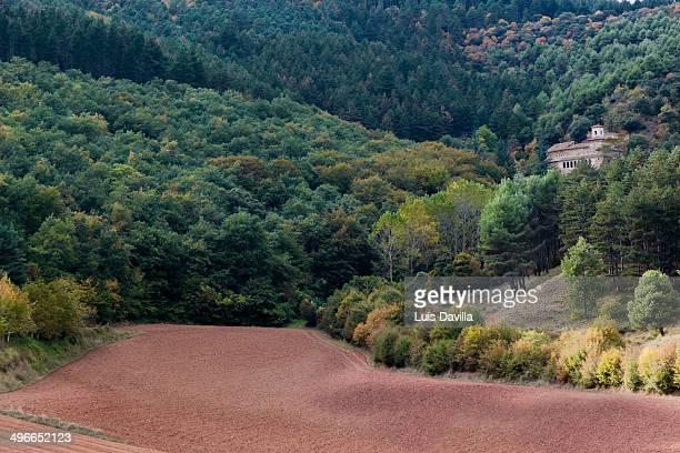 monastery of suso in la rioja. spain - san millán de la cogolla stock pictures, royalty-free photos & images