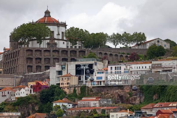 klooster van de serra pilar in vila nova de gaia - gwengoat stockfoto's en -beelden