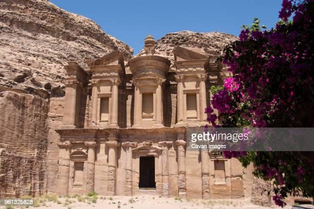 Monastery on sunny day