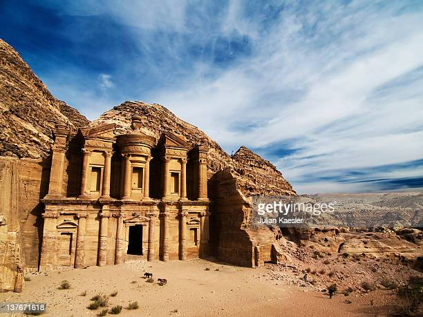 monastery - jordan stock pictures, royalty-free photos & images