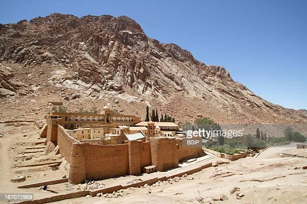 Monastery Saint Catherine Monastery Mount Sinai Egypt