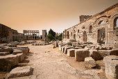 Monastery, St. Simeons, Syria.
