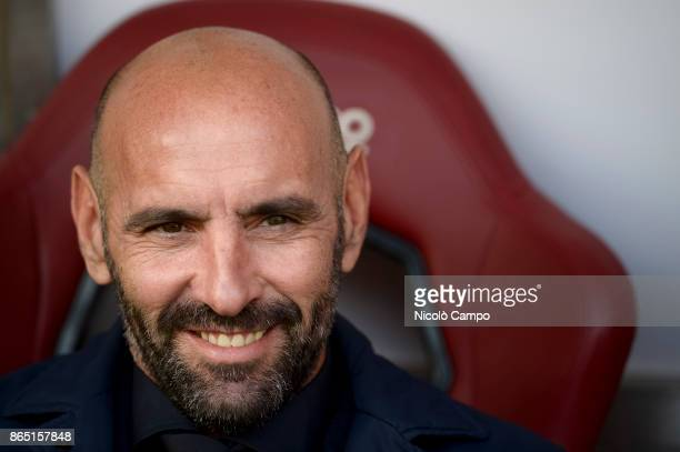 Monchi director of football of AS Roma looks on prior to the Serie A football match between Torino FC and AS Roma AS Roma won 10 over Torino FC