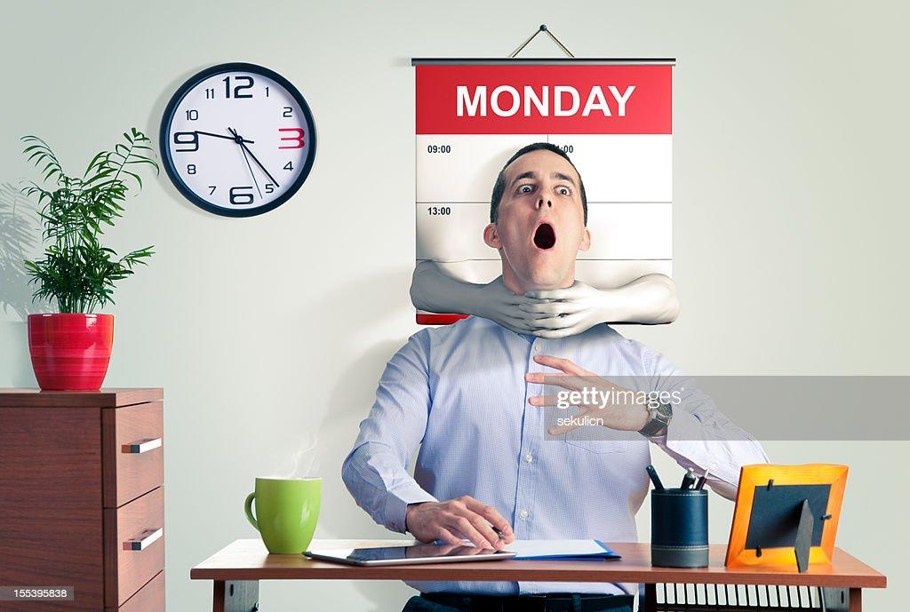Monday Blues : Stock Photo