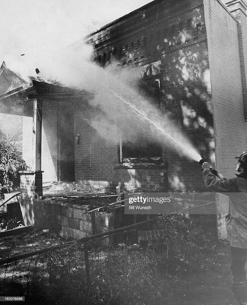Aug  1975 Monday Morning Fire Damages House On Fox Street