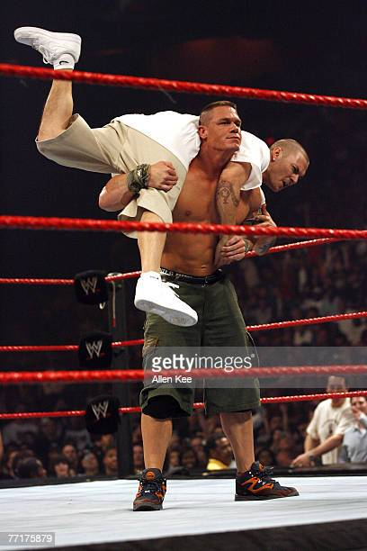 WWE Monday Night RAW in Miami FL featuring John Cena vs Kevin Federline Cena defeated Federline January 1 2007 at the American Airlines Arena