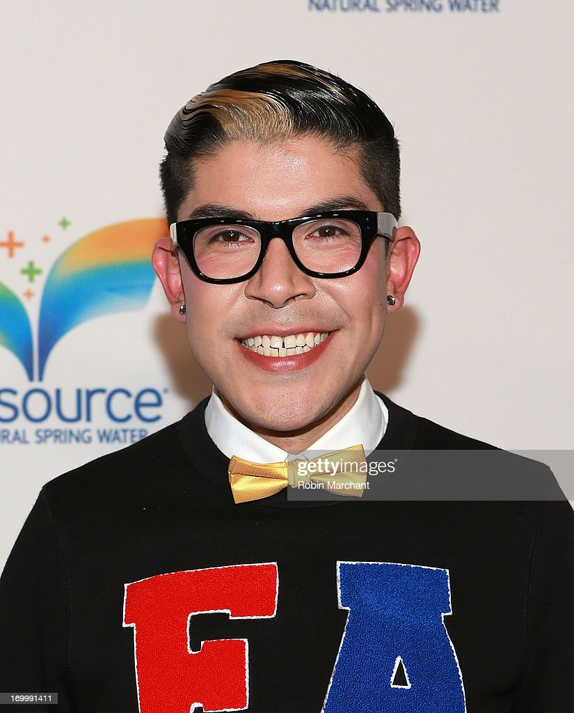 Mondo Guerra attends Natural Spring Water Resource Launch Event at Pier 36 on June 5, 2013 in New York City.