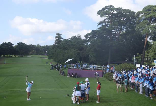 JPN: Golf - Olympics: Day 12