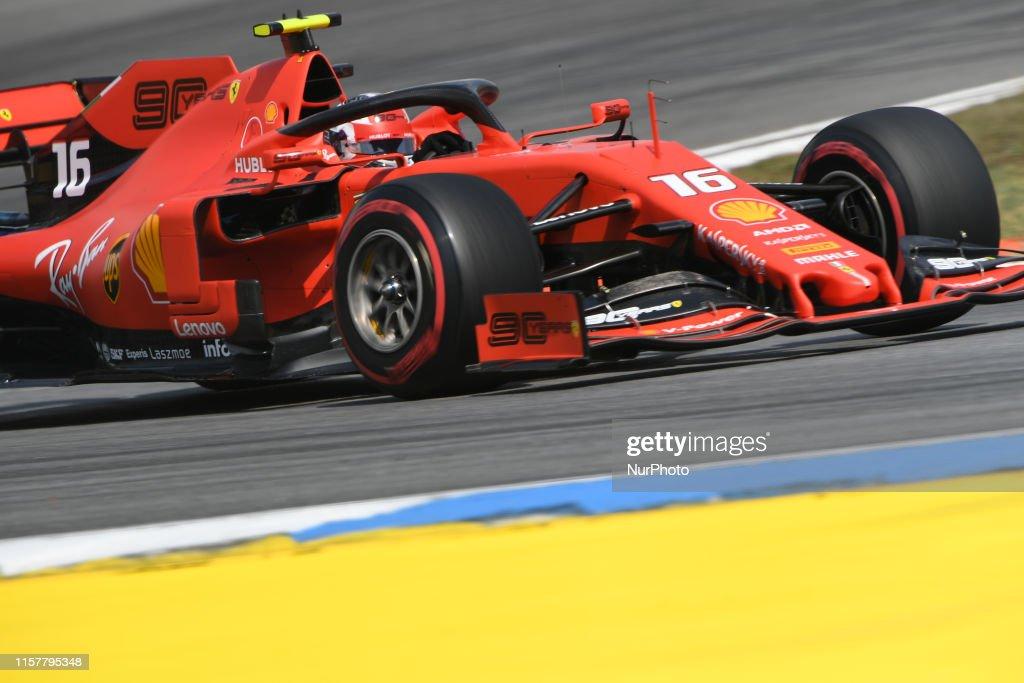 Formula 1 - GP Germany Free Practice : News Photo