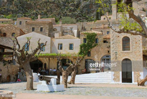 monemvasia - lindos stock photos and pictures