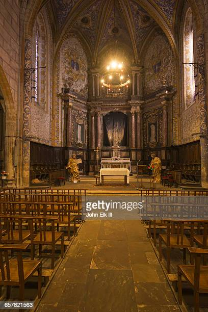 Monesties, Eglise St Pierre church, nave