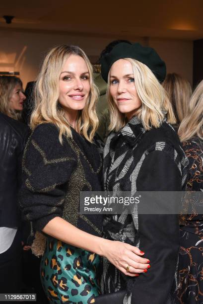 Monet Mazur and guest attend Oliver Peoples x Tasya van Ree Celebrates Who is Oliver Exhibition at LECLAIREUR on February 13 2019 in Los Angeles...
